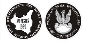 "Medalion ""Wrzesień 1939"" - projekt 2"