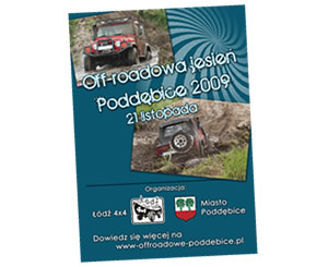 Plakat - Rajd Off-roadowa Jesień 2009