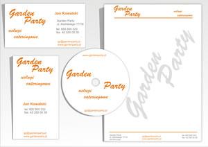 """Wizytówki, papier firmowy """"Garden Party"""""""