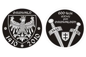 Medalion na 600-lecie Bitwy pod Grunwaldem - projekt