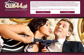 """""""Club 44"""" Darmowy portal ogłoszeń towarzyskich"""